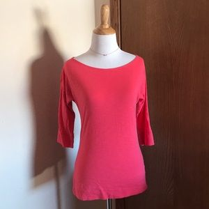 Lilly Pulitzer Salmon Colored Top